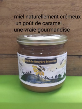 Miel Bruyére BLanche 500 gr (France)