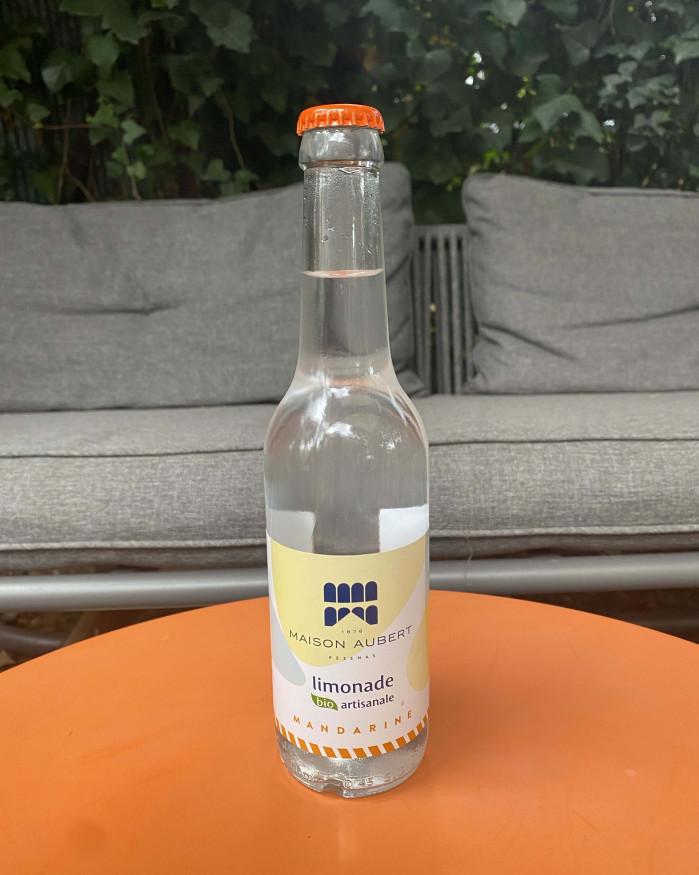 Limonade Bio Artisanale - Mandarine MAISON AUBERT