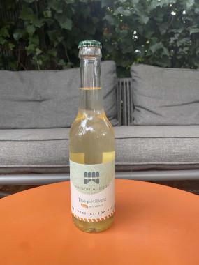 Thé pétillants Bio Artisanal - Thé vert & Citron vert MAISON AUBERT