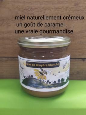 Miel Bruyére Blanche crémeux 500 gr (France)