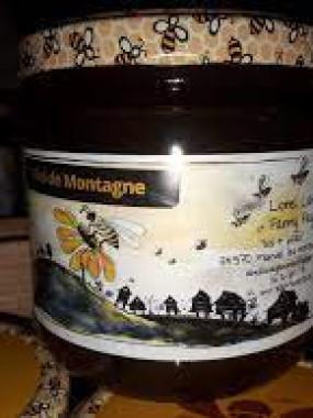 Miel de Montagne liquide 250 gr