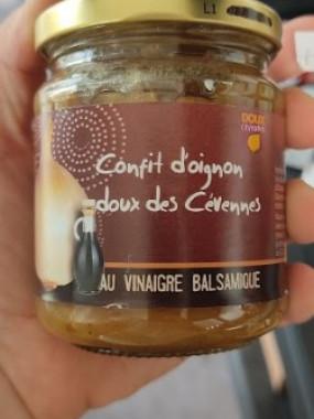 Confit Oignons doux de Cevennes au Vinaigre Balsamique