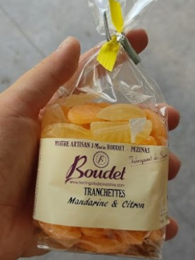 Bonbons Verres Agrumes - Boudet