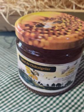 Miel de Châtaigne liquide 250 gr
