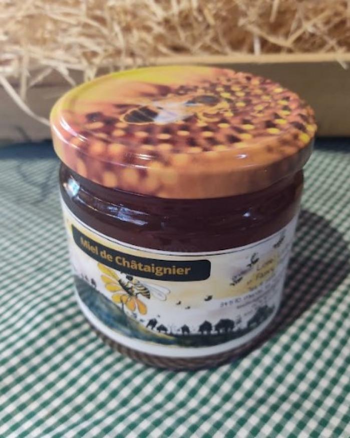 Miel de Châtaigne liquide 500 gr