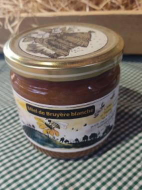 Miel de Bruyère Blanche liquide 250 gr