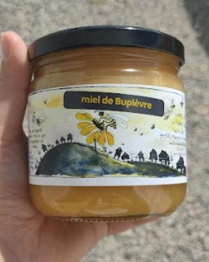 Miel de Buplèvre crémeux 500 gr